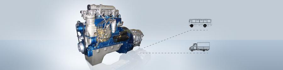 Баннер двигателя ММЗ Д 240