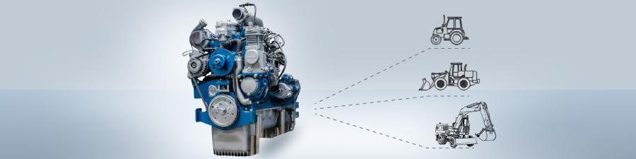 Баннер двигателя ММЗ Д 245